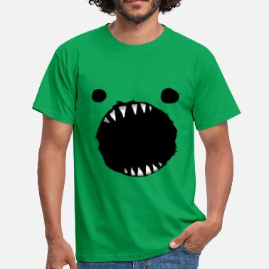 Mouth Monster monster mouth cookies - Men's T-Shirt