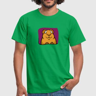 Smiley Piggy - Männer T-Shirt