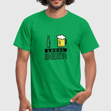 I Love Local Beer - Männer T-Shirt