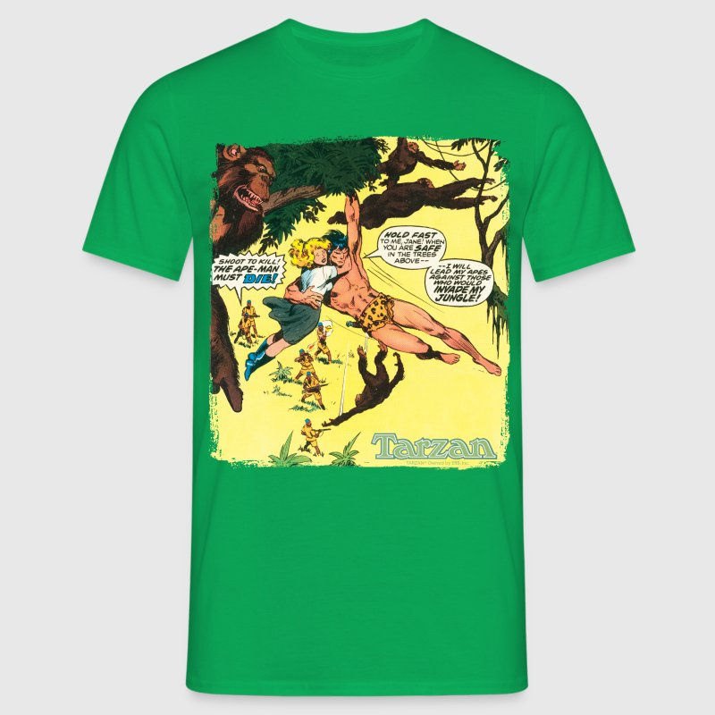 Tarzan Jane Old Comic Cover - Men's T-Shirt