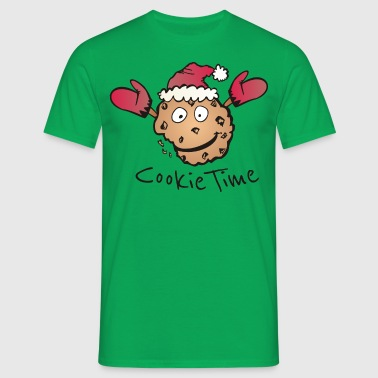 Kerst Cookie Time - Mannen T-shirt