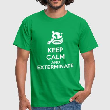 Keep Calm And Exterminate - Camiseta hombre