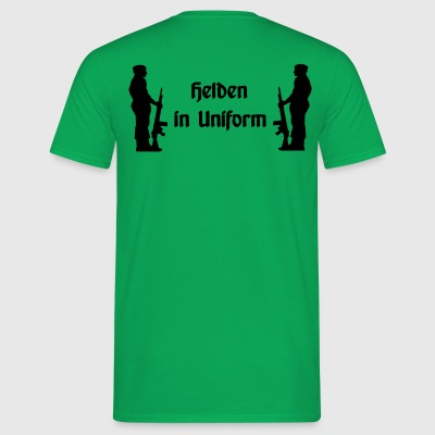 Helden in Uniform - Männer T-Shirt