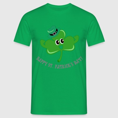 Happy Shamrock! - Herre-T-shirt