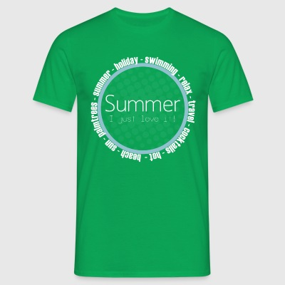 Love Summer - T-skjorte for menn