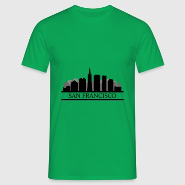 san francisco skyline - Men's T-Shirt