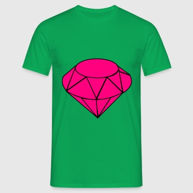 Pink Diamond - Herre-T-shirt
