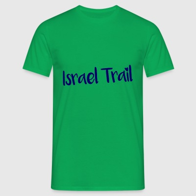 Israel Trail lettering - Men's T-Shirt