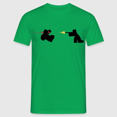 Unturned Zombie Shooting Game - Men's T-Shirt