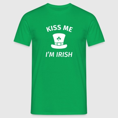 Kiss Me I'm Irish - T-shirt herr