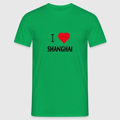 I Love Shanghai - Men's T-Shirt