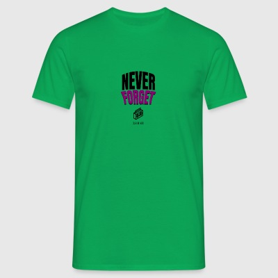 Never Forget - Männer T-Shirt