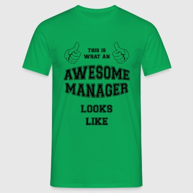 AWESOME MANAGER - Herre-T-shirt