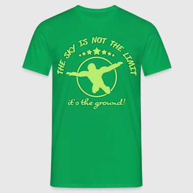 The sky is the limit - Men's T-Shirt