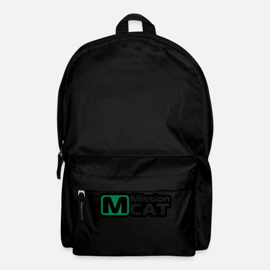 Mission Bags & Backpacks - Waller, catfish, fishing, fish, mission cat - Backpack black