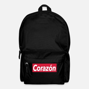 Corazon Corazon - heart - Backpack