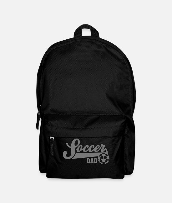 Sport Bags & Backpacks - Soccer DAD - Backpack black