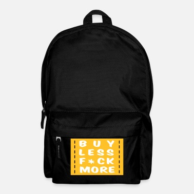 Loving Comment Day buy less fuck more 2 - Backpack