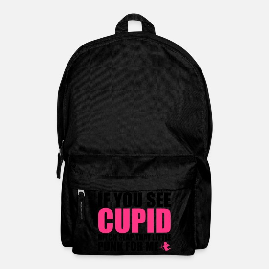 Single Bags & Backpacks - Cupid - Backpack black