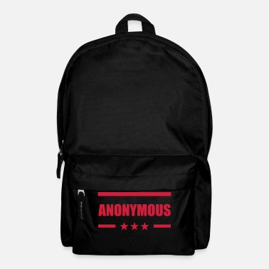 Anonymous Anonymous - Rugzak