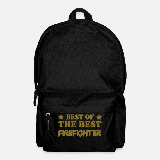 Gun Bags & Backpacks - Best of the best firefighter - Backpack black