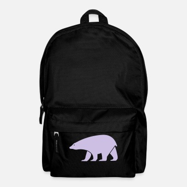 Snow polar bear - Backpack
