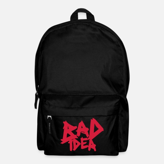 Politics Bags & Backpacks - Bad Idea - Backpack black