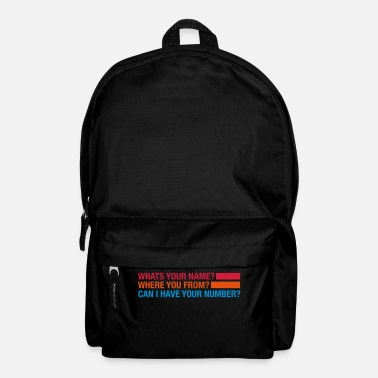 Flirt whats_your_name_td3 - Backpack