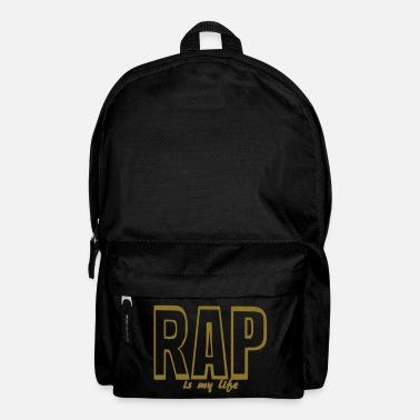 rap is my life - Mochila