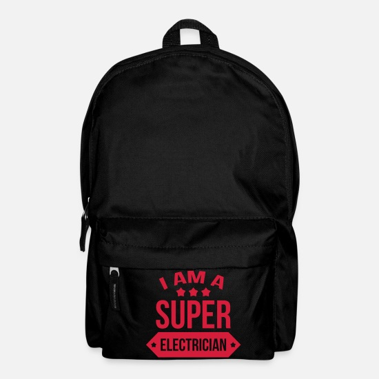 Repair Bags & Backpacks - Electrician / Electricity / Electricien / Electric - Backpack black