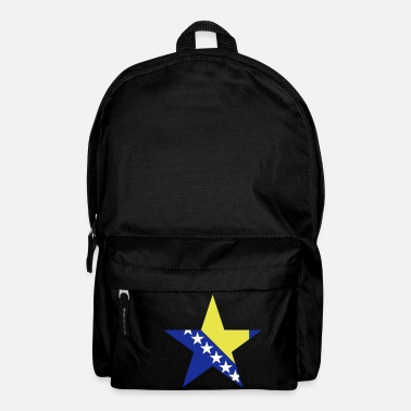 Bosnien Bosnian and Hercegovinas star - Backpack