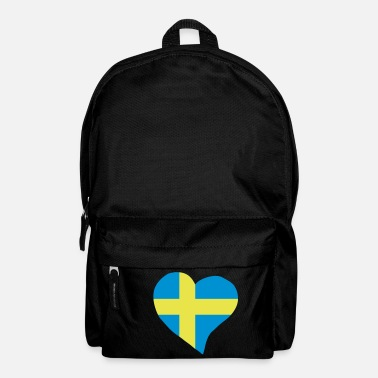 Swedish Swedish heart - Backpack