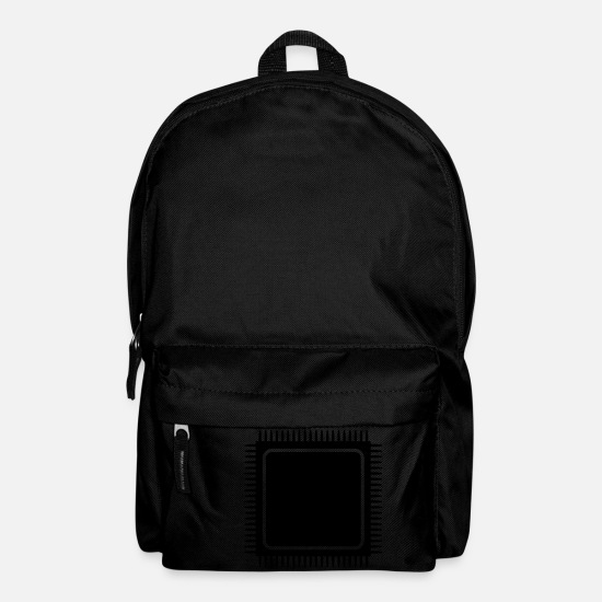 Symbols & Shapes Bags & Backpacks - integrated microcircuit_m1 - Backpack black