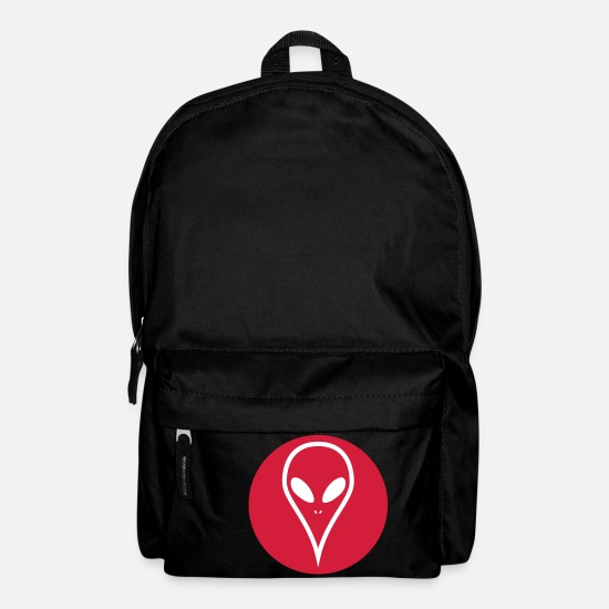 Red Bags & Backpacks - Red White - Backpack black