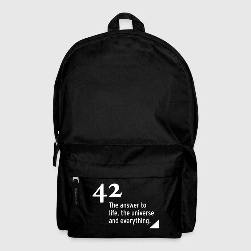 42 - the answer - Rucksack