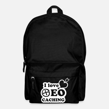 I love geocaching - 1color - 2011 - Backpack