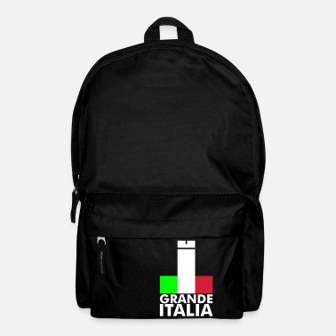 Football Underwear Italia Italy flag - grande italia - provocative - Backpack