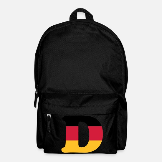 Country Bags & Backpacks - Deutschland - classic font - Backpack black