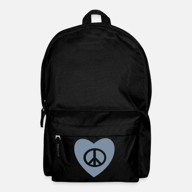 Tatoo tatouage amour et paix peace and love tattoo - Sac à dos