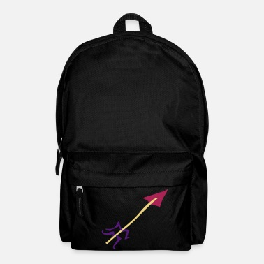 Map Underwear Symbol - Shooting Arrow - Backpack