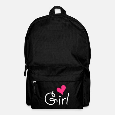 Girlie Girl with ♥ - Sac à dos