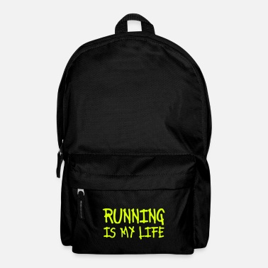 Correr running is my life - Mochila