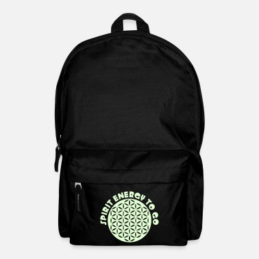 FLOWER OF LIFE - SPIRIT ENERGY TO GO - punched - Rucksack