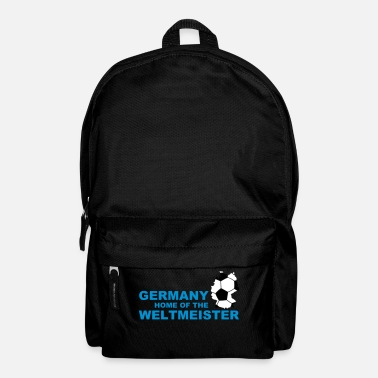 Soccer germany home of the weltmeister 2 - Rucksack