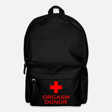 Orgasm Donor - Backpack