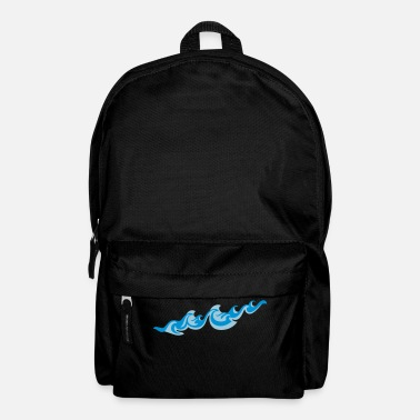Sea Underwear Waves 2C - Backpack