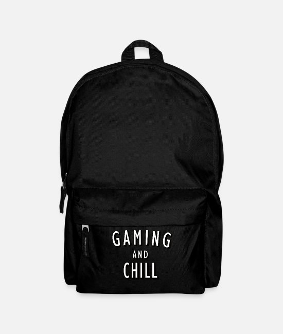 Game Bags & Backpacks - Gaming and chill - Backpack black