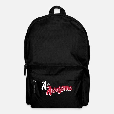 Awesome A for Awesome - Backpack
