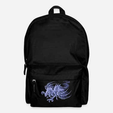 Mythical ghost dragon - Backpack