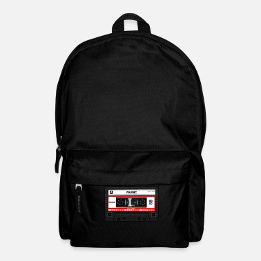 Old Music Music Tape - old school - Backpack